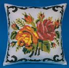 Μαξιλαρι λουλουδια ψαθασ κιτ 529