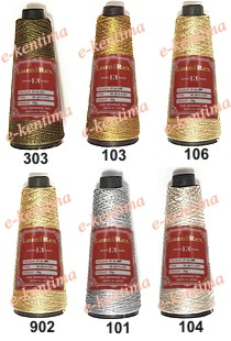 GOLDEN THREAD 6 PLY FOR EMBROIDERY LUMIREX